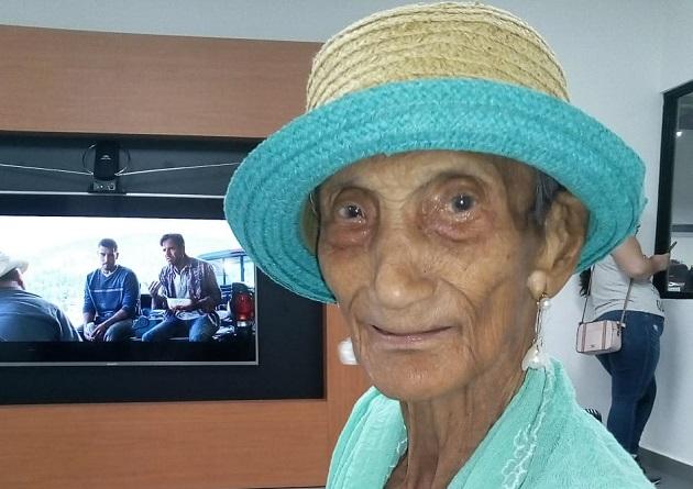 Zoila Esperanza Gutiérrez Berrocal, viuda de Buitrago, cumplió 99 años el 24 de febrero.
