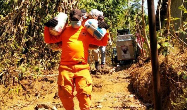 El Sinaproc ha jugado su rol en la entrega de ayuda a familias. Foto: Cortesía