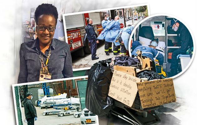 Beatriz Chichester, una panameña que tiene más de 40 años de vivir en New York.
