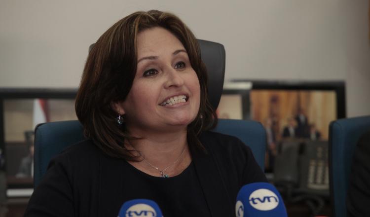 Kenia Porcell, exprocuradora de la nación en el Gobierno de Juan Carlos Varela.