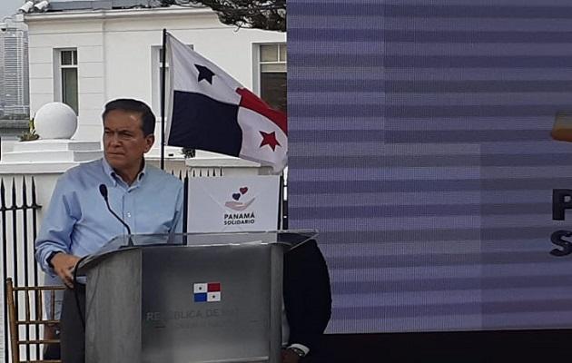 El presidente Laurentizo Cortizo hizo el anuncio de activación este miércoles.