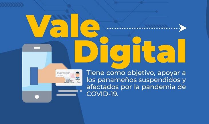 La primera fase del vale digital de $80 comenzó a regir desde este jueves.