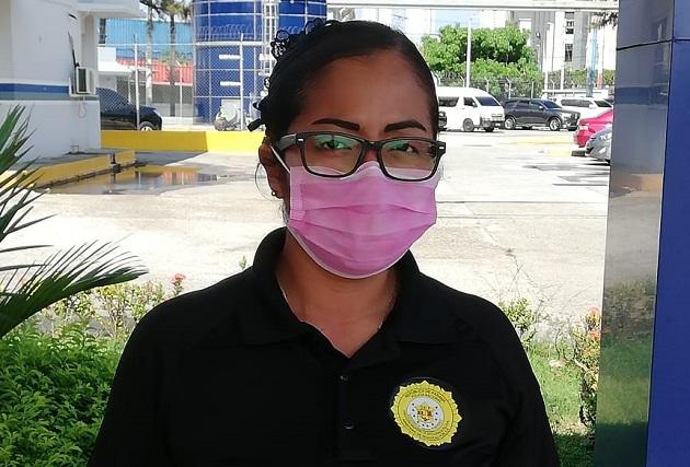 Julia Núñez es cabo primero en la Dirección Nacional de Inteligencia Policial (DNIP).