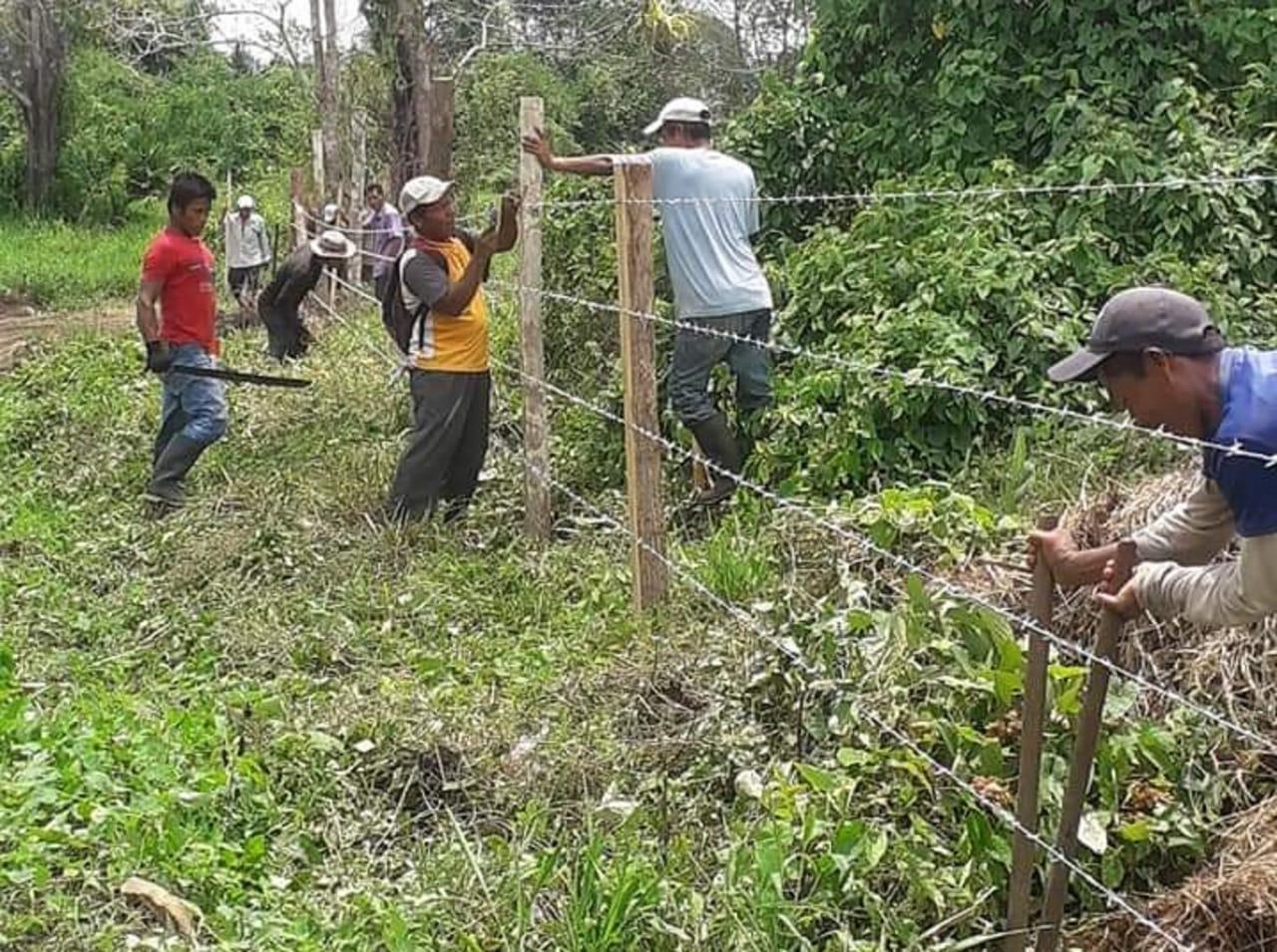 El ministro de Ambiente se comprometió en realizar giras a los territorios afectados.