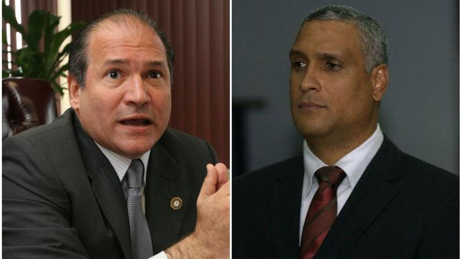 Harry Díaz y Jerónimo Mejia, exmagistrados de la Corte Suprema de Justicia. Archivo