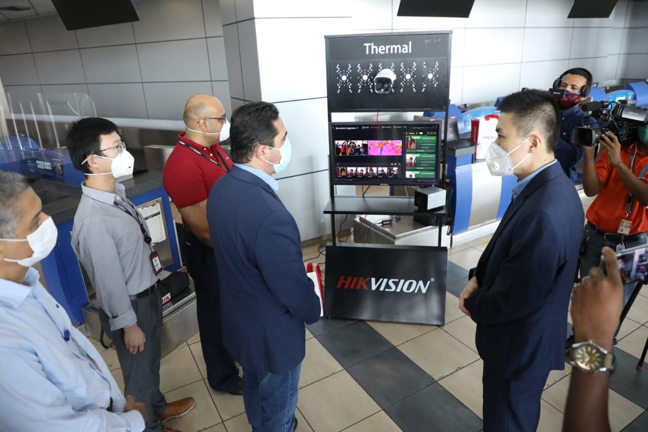 El Aeropuerto Internacional de Panamá es el primero de Centroamérica en instalar este tipo de cámaras.