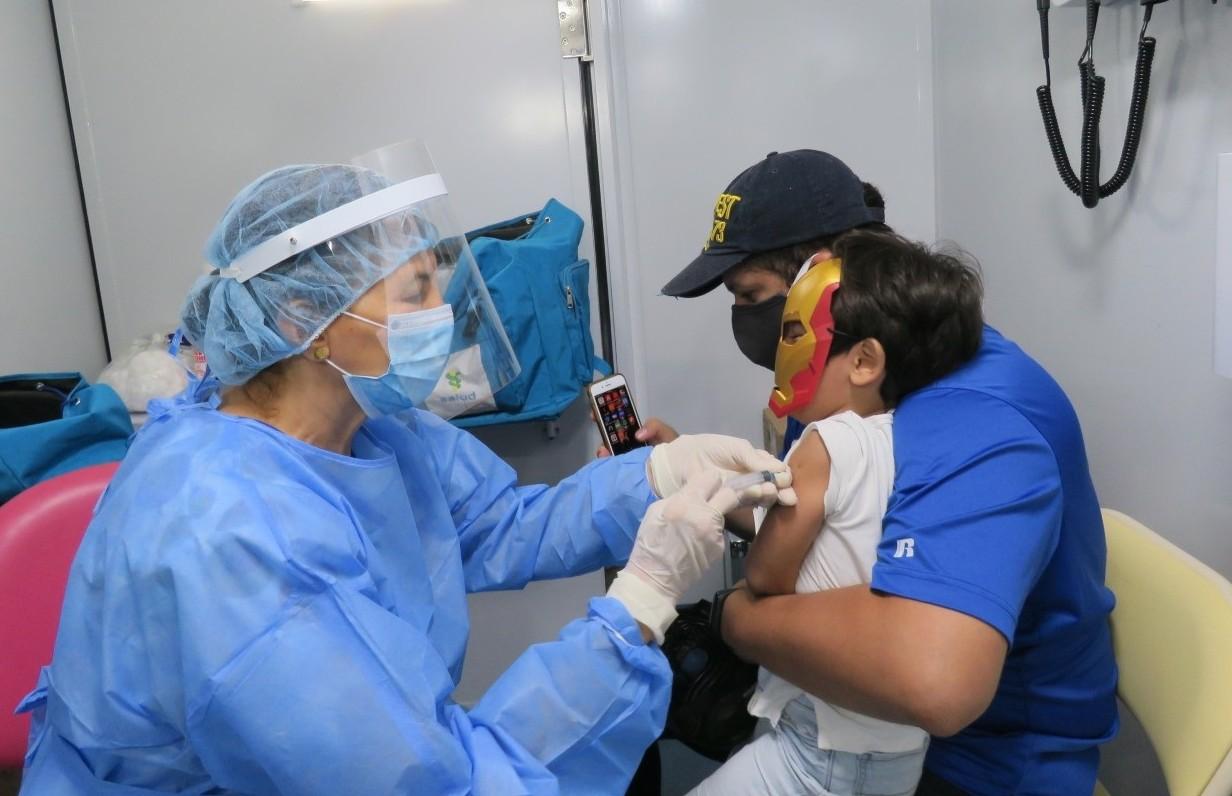 Jornada de vacunación contra la influenza.