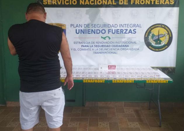 Intentaban cruzar de manera ilegal la mercancía. Fotos: Mayra Madrid.