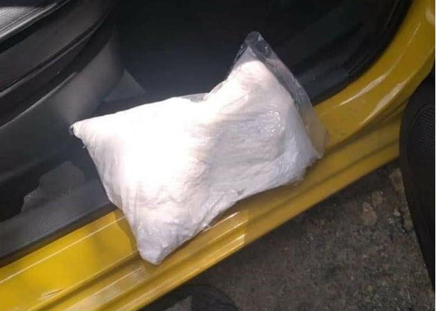 La cocaína fue decomisada en un retén en la Costa Abajo. Fotos: Diómedes Sánchez.
