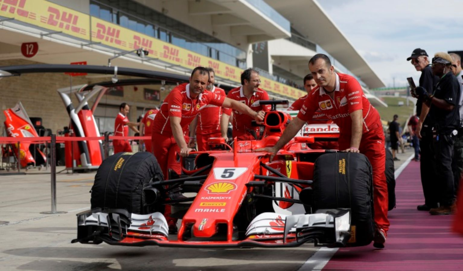 Sebastian Vettel. Foto:AP