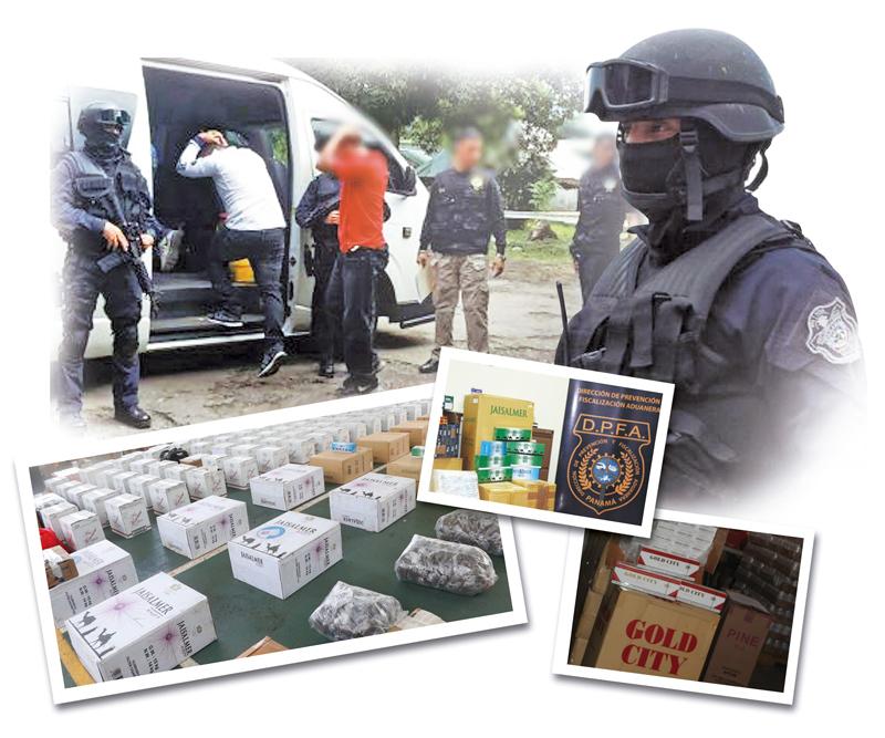 Casi un 80% de los cigarrillos que se fuman en Panamá son de contrabando.