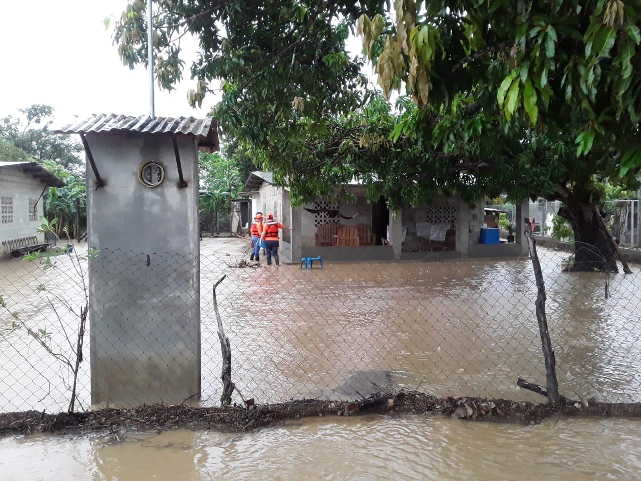 El Sinaproc mantienen monitoreando diferentes áreas en Panamá Oeste y Coclé, ya que se mantienen las lluvias y muchos ríos están a su máximo nivel.