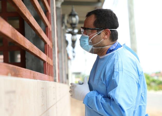 El personal de salud está expuesto a contraer el coronavirus. Foto: Eric A. Montenegro.