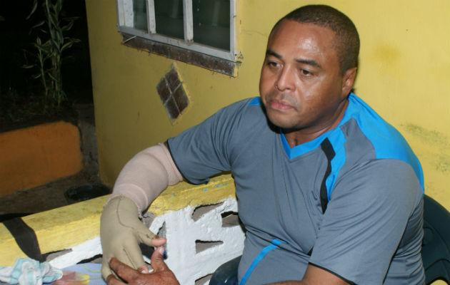 Luis Contreras perdió la conciencia por la inhalación de humo durante el accidente de 2006.