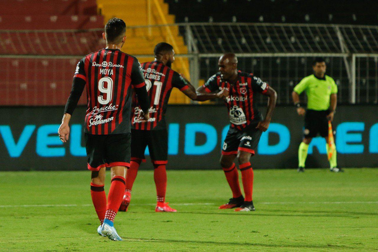 Alajuelense con Adolfo Machado eliminó a Herediano en semifinales. Foto:Twitter