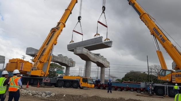 El director general del Metro de Panamá, Héctor Ortega, dijo que van a notificarle al contratista general de que ya recibieron el permiso para que se reinicien los trabajos.