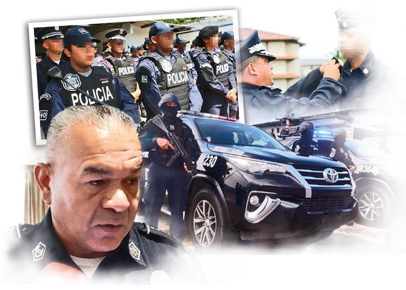 Jorge Miranda, director de la Policía Nacional.
