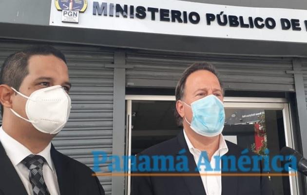 Juan Carlos Varela  aseguró que es leal al Estado.