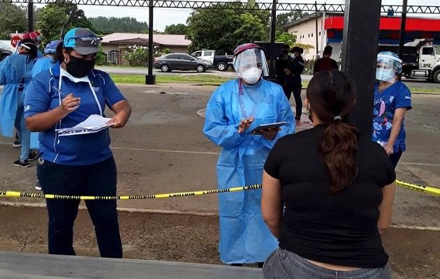 Los casos de coronavirus no bajan en Panamá.