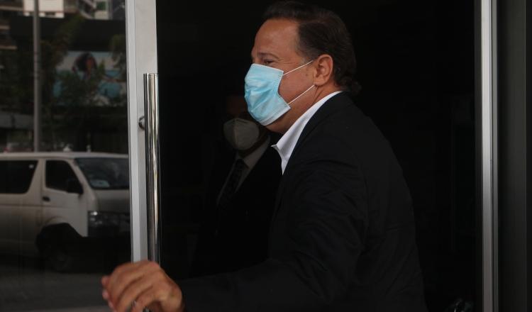 El expresidente Juan Carlos Varela deberá presentarse hoy al MP a las 9:00 a.m.