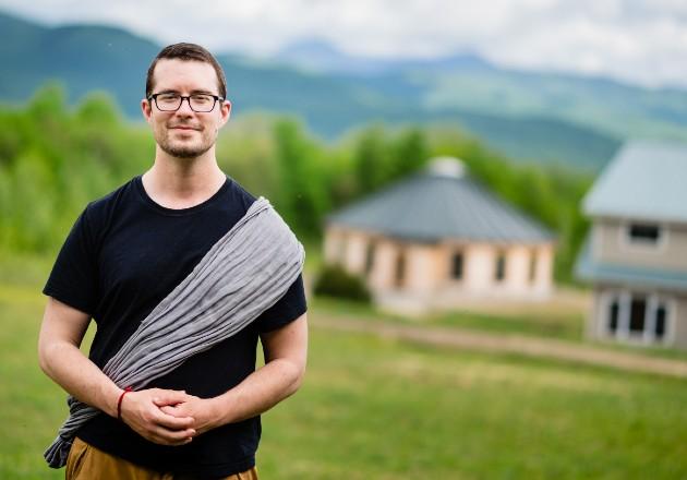 Tras aislamiento, Daniel Thorson descubrió el distanciamiento social. Foto / Jacob Hannah para The New York Times.