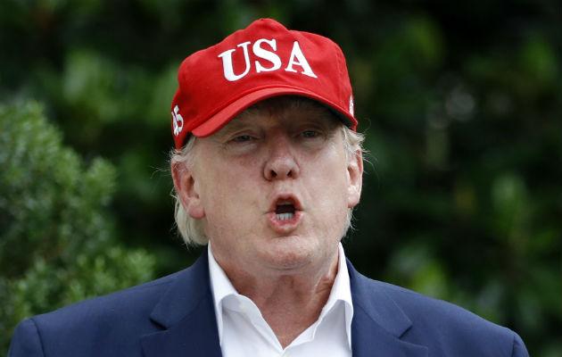 Trump reaccionó con furia, al tachar de