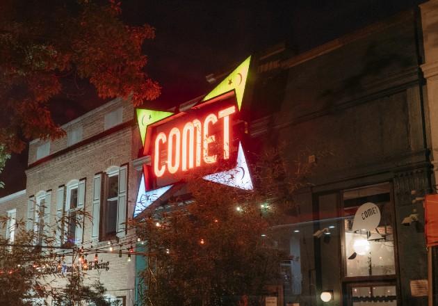 Pizzería de Washington fue blanco de conspiradores en línea. Foto / Justin T. Gellerson para The New York Times.