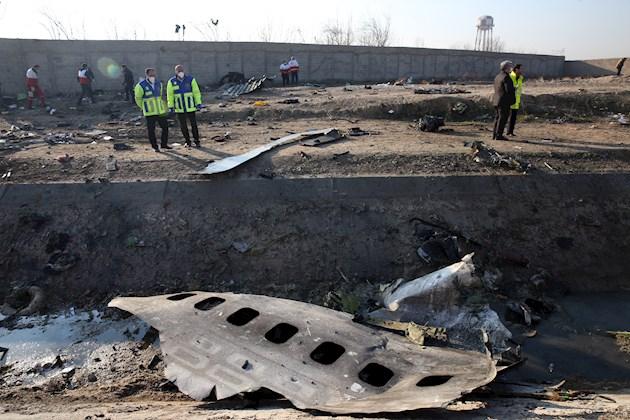 El vuelo 752 de Ukraine International Airlines (UIA) fue derribado el pasado 8 de enero al ser confundido con un misil poco después de despegar del aeropuerto de Teherán con destino a Kiev.