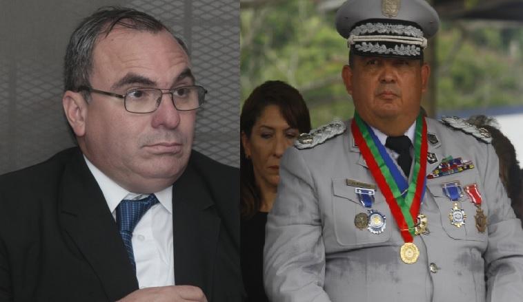 Rolando López (izq.) y Omar Pinzón ocuparon altos cargos durante el gobierno de Juan Carlos Varela.