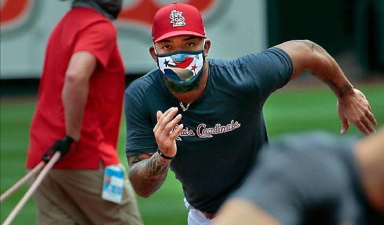 MLB.com destacó la versatilidad que Edmundo Sosa puede aportarle a los Cardenales de San Luis. Cortesía