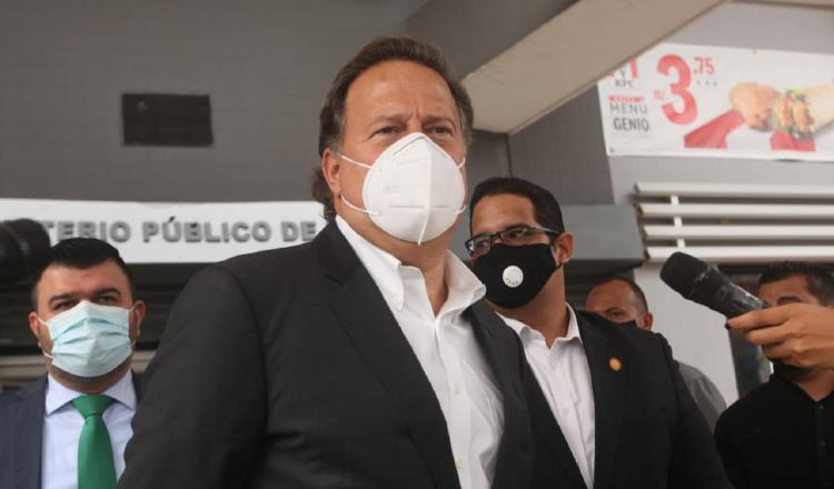 Varela, durante su comparecencia a las indagatorias por el caso Odebrecht, ha esquivado los cuestionamientos de los medios. Víctor Arosemena