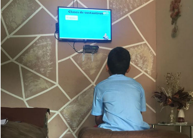 El 95 por ciento de las escuelas iniciaron sus clases de forma virtual. Fotos: Eric A. Montenegro.
