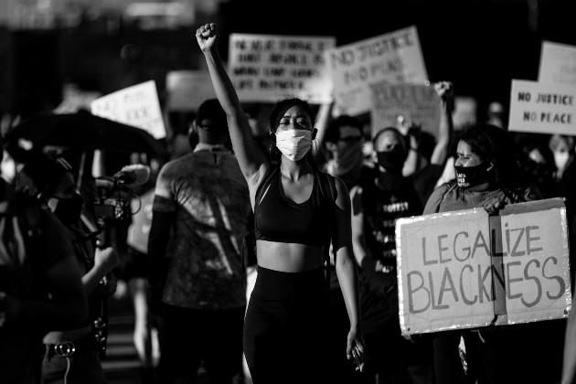 La sociedad estadounidense sigue arrastrando el lastre de la desigualdad. Foto: EFE.