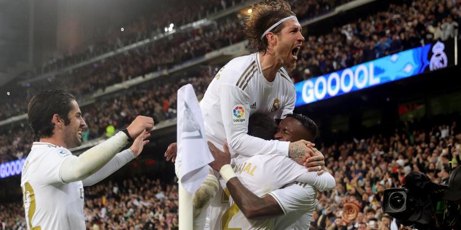 Real Madrid tendrá que remontar un marcador adverso. Foto:EFE