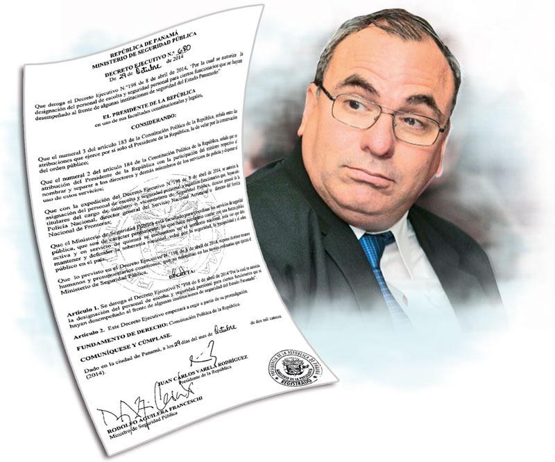 Rolando López, exdirector del Consejo e Seguridad Nacional.