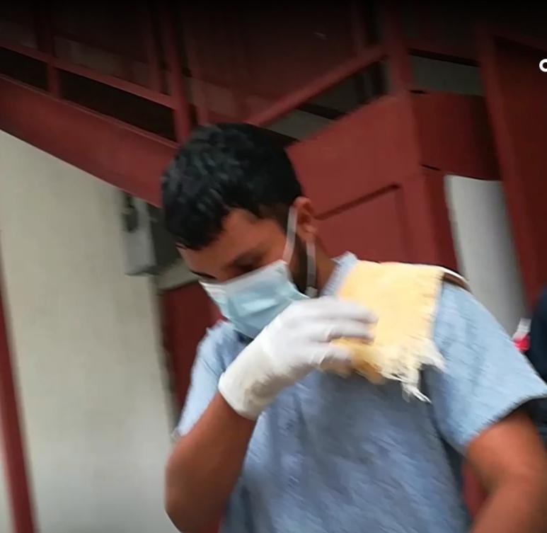 Agregó que va a regresar a Tagua en Achiote donde se encuentran su abuelo que está triste por esta situación.