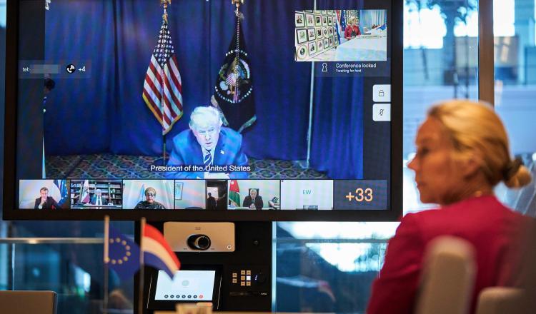 Trump había amenazado con aprobar una serie de medidas económicas. EFE