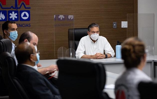 Laurentino Cortizo pidió no perderle el miedo al virus.