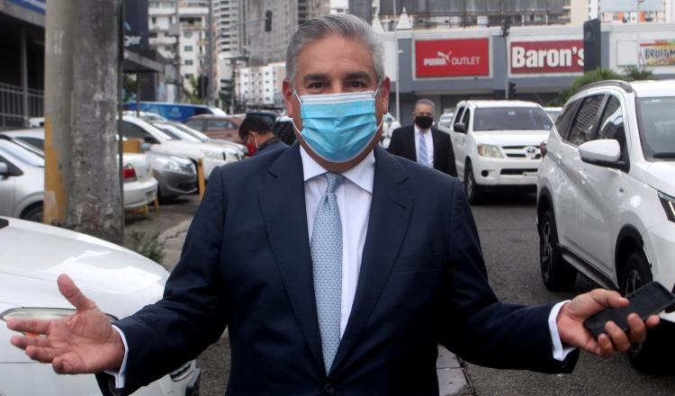 El empresario y banquero, Juan Antonio Niño, ayer en su comparecencia ante la Fiscalía Especial Anticorrupción. Víctor Arosemena