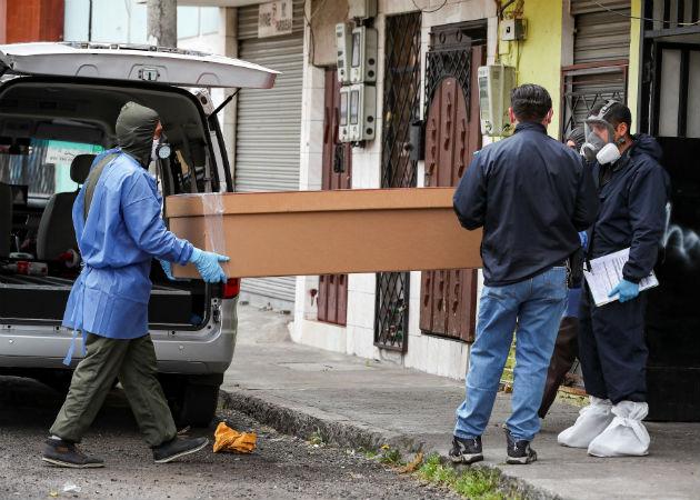 El ministro del Interior, Jorge Montoya, lamentó la pérdida de estos policías. Fotos: EFE.