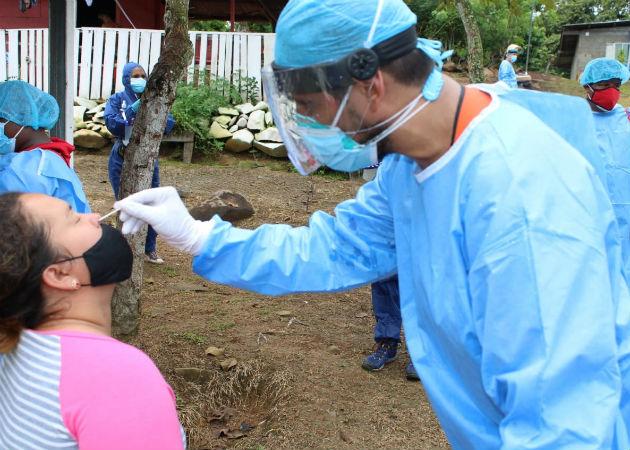 Se busca cortar con la cadena de transmisión del virus en esta área. Fotos: Eric A. Montenegro.