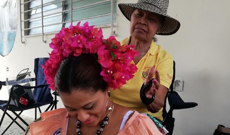 'Mami' Chacón es considerada un ícono del folclor chorrerano.