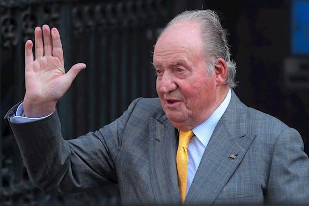 Juan Carlos de Borbón, de 83 años, trasladó su