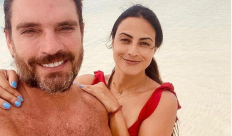 Julian Gil y Valeria Marín. Instagram