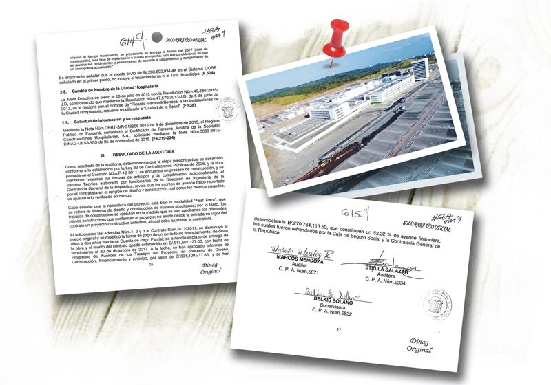 Contraloría certificó que no hubo irregularidades en la licitación y costo de la Ciudad Hospitalaria bajo la administración de Ricardo Martinelli.
