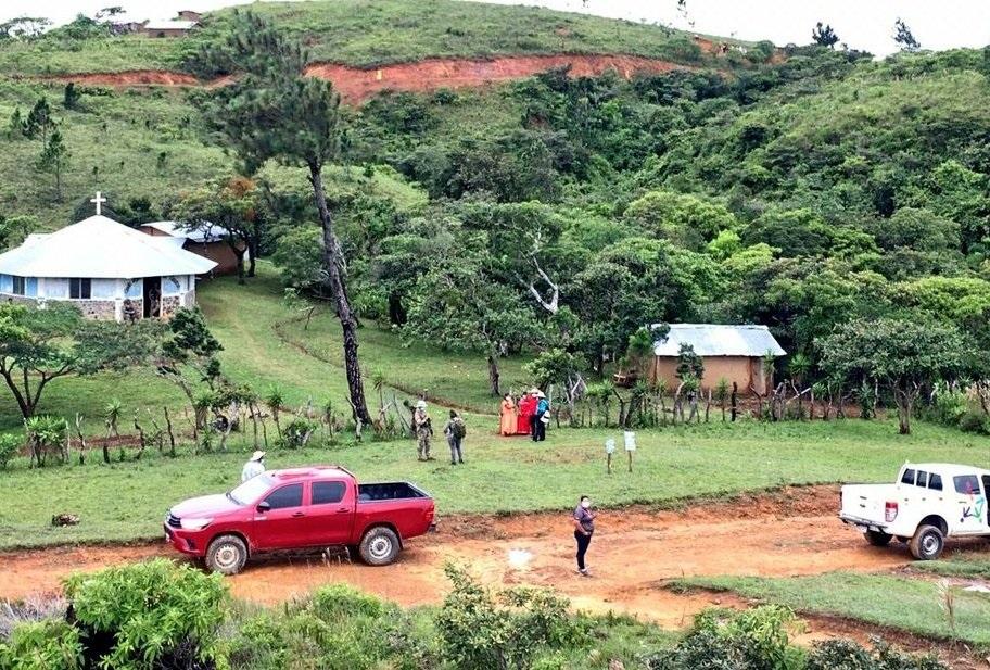 El hecho se registró en la comunidad conocida como Guayabalito