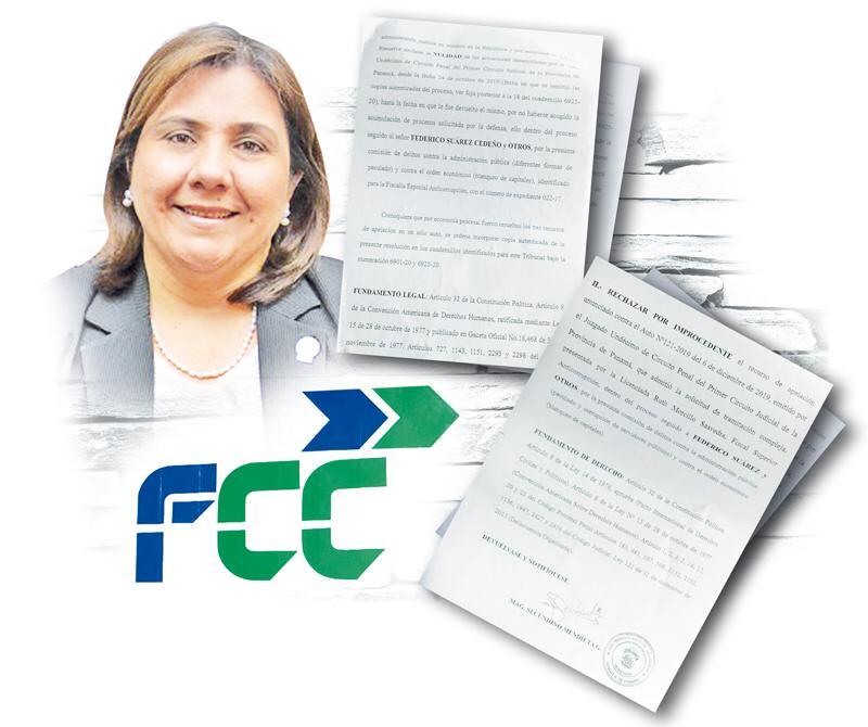 Ruth Morcillo, fiscal en el caso FCC.