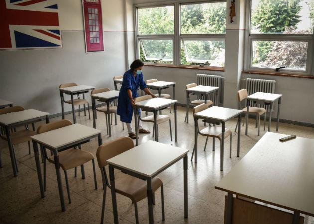 Los colegios han estado trabajado para cumplir las recomendaciones de seguridad del Gobierno. Fotos: EFE.