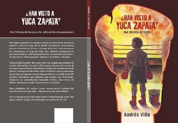 Una novela sobre el boxeo panameño escrita por Andrés Villa. Foto:Cortesía