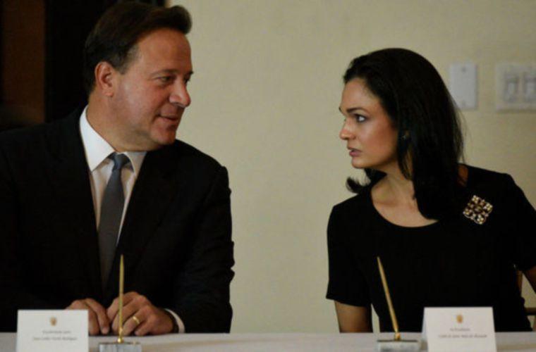 Juan Carlos Varela e Isabel De Saint Malo fueron presidente y vicepresidente de la República de Panamá en el período 2014-2019.